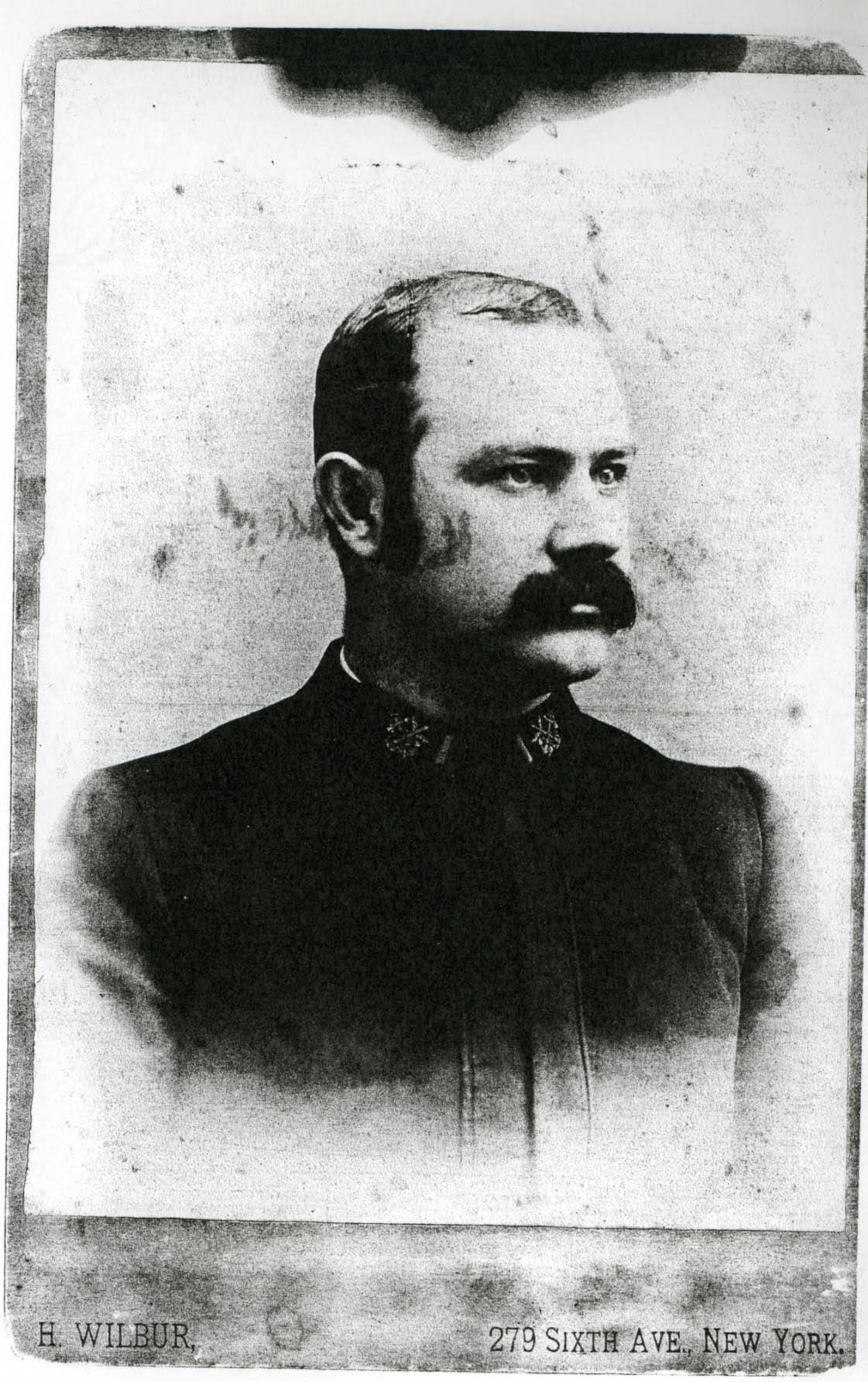 Photo of Joseph James Kinyoun in 1888, at age 28